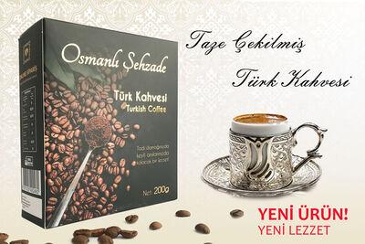 Osmanlı Şehzade - Türk Kahvesi 200gr.